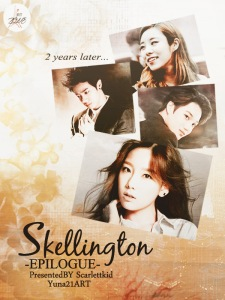 skellington by scarlettkid
