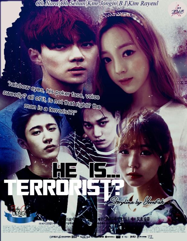 Poster He Is Terrorist(Yoonfah)